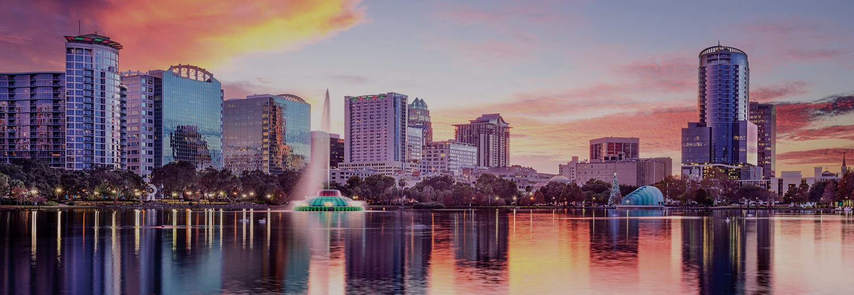 Downtown Orlando Florida